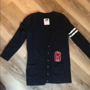 Gilly Hicks letterman sweater